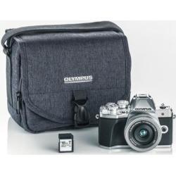 Olympus OM-D E-M10 Mark III Digital Camera with 14-42mm EZ Lens 48GB Bundle