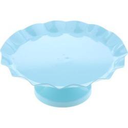 Cake Pan Dessert Table Iron Cake Stand Blue L