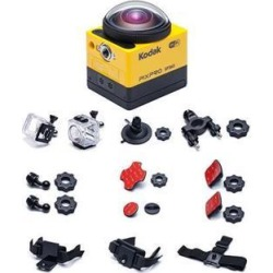 KODAK PIXPRO SP360 360 Degree VR Action Camera with Extreme Pack #SP360-YL5