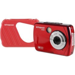 Polaroid IS048-RED 16MP Waterproof Digital Camera Red