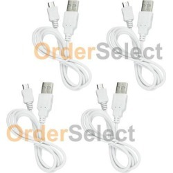 4 NEW Micro USB Charger Cable for Android Phone HTC One 9 Huawei 5X Honor 5X HOT