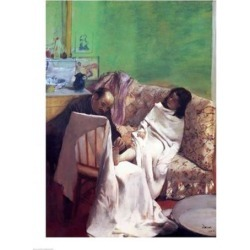 Posterazzi BALXIR82857LARGE The Pedicure 1873 Poster Print by Edgar Degas - 24 x 36 in. - Large