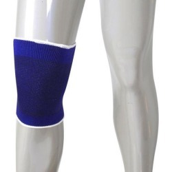 Unique Bargains Athletics Knee Brace Compression Sleeve Support for Arthritis Recovery