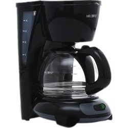 MR. COFFEE TF5GTF-RB Black Simple Brew 4-Cup Switch Coffee Maker