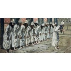 Posterazzi SAL999311 The Priests James Tissot 1836-1902 French Jewish Museum New York City Poster Print - 18 x 24 in.