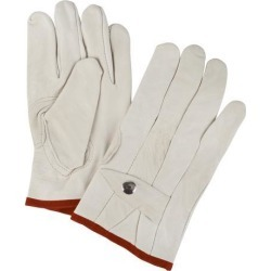 Zenith Safety Products Grain Cowhide Ropers Gloves, Small, 1 Pair