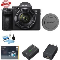 Sony Alpha a7 III Mirrorless Digital Camera with 28-70mm Lens w/ Cleaning kit