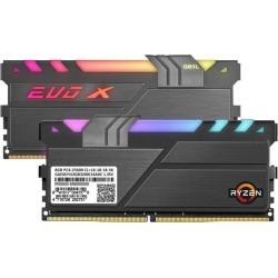 GeIL EVO X II AMD Edition 16GB (2 x 8GB) 288-Pin DDR4 SDRAM DDR4 3200 (PC4 25600) Desktop Memory Model GAEXSY416GB3200C16ADC
