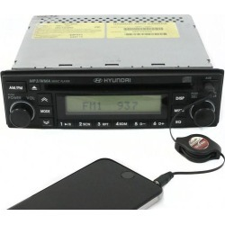 Recertified - Hyundai 2007-2011 Accent Radio AM FM mp3 Single Disc CD w Aux Input 06961-95041 found on Bargain Bro India from Newegg Business for $125.00