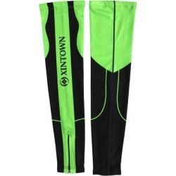 XINTOWN Authorized Unisex Outdoor Knee Exercise Football Protector Jogging Cycling Sun Leg Sleeves #4 L Pair