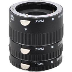 Xit Photo Sony Pro Series Auto Focus Macro DSLR Camera Extension Tube Set -XTETS