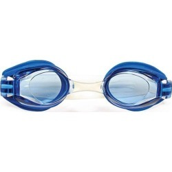 7' Blue and Clear V5 View Goggles Swimming Pool Accessory for Adults