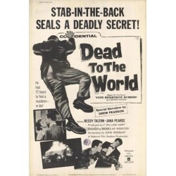 Posterazzi MOVAF8434 Dead to the World Movie Poster - 27 x 40 in. found on Bargain Bro Philippines from Newegg Canada for $44.19