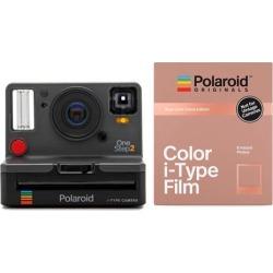 Polaroid Originals 9008 OneStep 2 VF Instant Camera(Graphite) and Rose Gold Film