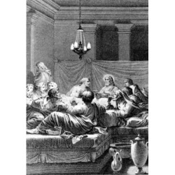 Posterazzi SAL9001190 The Last Supper by Gustave Dore 1832-1883 Poster Print - 18 x 24 in.