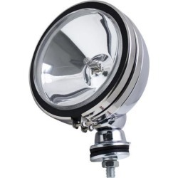 Pilot Automotive NV-802C 100 Watt 6-inch Round Driving/ Fog Utility Off-Road Light - Clear (Size: 6 x 5 x 6.94)