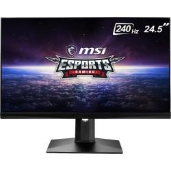 MSI Optix MAG251RX 24.5' Full HD 1920 x 1080 1ms (GTG) 240 Hz HDMI, DisplayPort, USB-C G-Sync Compatible Gaming Monitor