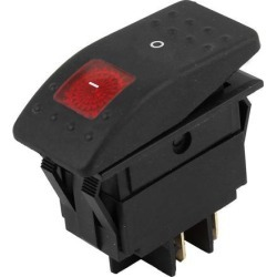 Unique Bargains DC 12V 4pin DPST Snap in Jeep Car Fog Lignt Boat Rocker Switch found on Bargain Bro Philippines from Newegg Business for $8.87