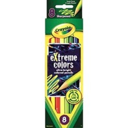 Crayola Extreme Colored Pencil Set Assorted 8/Set 681120
