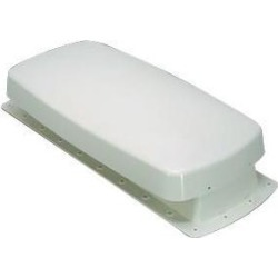 RV Motorhome Plastic Roof Vent With Top, Base, and Bired/Squirrel Screen, Easy To Clean