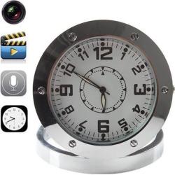 Newest Home Security Clock Recorder Video Security Hidden Spy Camera Cam Sound Motion Detector