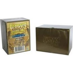 Dragon Shield - Gaming Box - Gold FFGDSH72 FANTASY FLIGHT GAMES