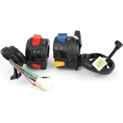 Unique Bargains ATV Motorcycle Scooter 7/8' Combination Horn Starting Electric Switch Controller for Suzuki