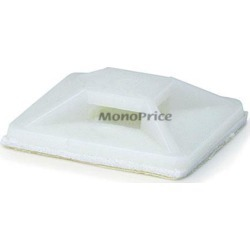 Monoprice Cable Tie Mounts 25x25 mm, 100 pcs/pack, White found on Bargain Bro Philippines from Newegg Canada for $8.17