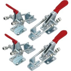 Unique Bargains163Kg Holding Capacity U-Shaped Clamping Bar Toggle Clamps GH-40323 4pcs