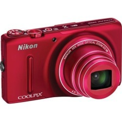 Recertified - Nikon COOLPIX S9500 Digital Camera (Red)