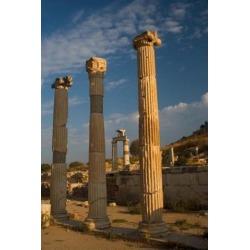 Posterazzi PDDAS37DGU0005 Ruins of Roman Times Ephesus Turkey Poster Print by Darrell Gulin - 18 x 26 in.
