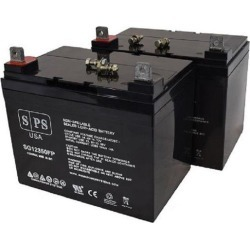 SPS Brand 12V 35Ah Replacement battery for Merits Products P101 Commuter (2 PACK) found on Bargain Bro India from Newegg Business for $118.00