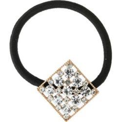 Fashion Elastic Rhinestone Crystal Hair Band Rope Hair Accessories Golden