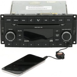 Recertified - Dodge Jeep 2007 Nitro Wrangler Radio AM FM mp3 CD With Aux & XM P05064061AI RES found on Bargain Bro India from Newegg Business for $225.00