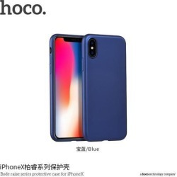 HOCO Bode raise series protective case for iPHONE X Blue