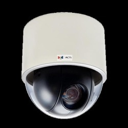 ACTi 2MP, Indoor Speed Dome, Day / Night, Extreme WDR, Superior Low Light Sensitivity, Built-in Analytics, 30x optical (B934)