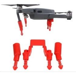 Landing Gear Stabilizer Height Extender Damping Landing Skid Feet Bracket Protector for DJI Mavic Pro (Black)