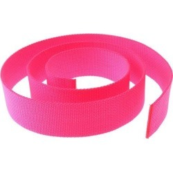 Scuba Diving Weight Belt 2' 5cm Standard Harness Webbing Fluorescence Pink
