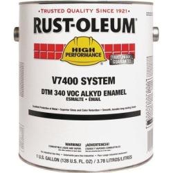 Rust-Oleum - 245443 - High Gloss Interior/Exterior Paint, Oil Base, Navy Gray, 1 gal.