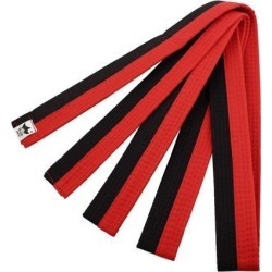 Sporty Rank Hapkido Taekwondo Belt Judo Karate Band Red Black found on Bargain Bro India from Newegg Business for $6.63