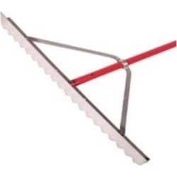 36In Aluminum Asphalt Lute AMES TRUE TEMPER, INC. Specialty Rakes 63133