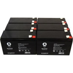 SPS Brand 12V 7 Ah Replacement Battery for PowerWare PW5119-1500VA UPS (6 PACK) found on Bargain Bro India from Newegg Business for $70.00