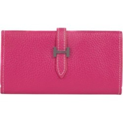 PU Wallet can hold 6 inch phones (Magenta)