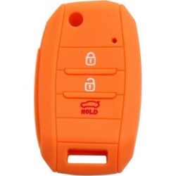 Car Keyless Entry Remote Key Case Holder Shell Cover 3/4 Button Orange for Kia found on Bargain Bro Philippines from Newegg Canada for $8.58