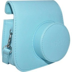 Fujifilm Instax Groovy Case - Baby Blue - for Mini 9 or 8 - NEW USA