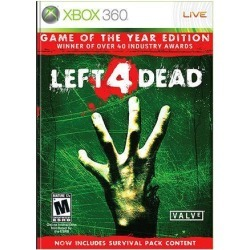 Left 4 Dead Game of the Year Edition Xbox 360 Game found on GamingScroll.com from Newegg Canada for $21.40