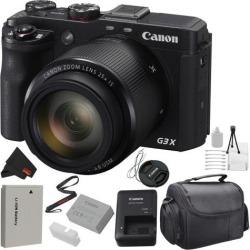 Canon PowerShot G3 X Digital Camera (0106C001) Bundle with Carrying Case (Intl Model)