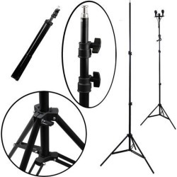 Professional Photo Photography Studio Flash Lighting Video Light Stand Tripod