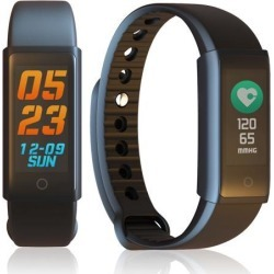 Indigi® Smart Bluetooth Watch Bracelet Heart Rate Monitor Fitness Tracker For iPhone iOS Android