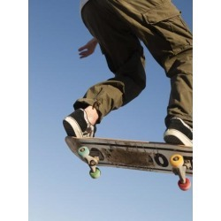 Posterazzi DPI1850822 Low Angle View of Young Male Skateboarder Poster Print, 14 x 19